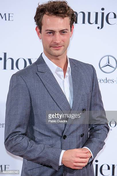 Actor Peter Vives attends 'Mujer Hoy' awards gala at Palace Hotel on December 16 2014 in Madrid Spain