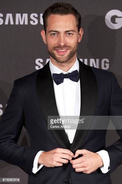 Actor Peter Vives attends the 'GQ Men of the Year' awards 2017 at the Palace Hotel on November 16 2017 in Madrid Spain