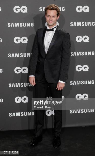 Actor Peter Vives attends the 'GQ Men of the Year' awards photocall at Palace hotel on November 22 2018 in Madrid Spain