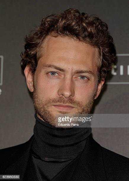 Actor Peter Vives attends the 'Intimissimi 20 years anniversary' photocall at Italian embassy in Spain on November 17 2016 in Madrid Spain