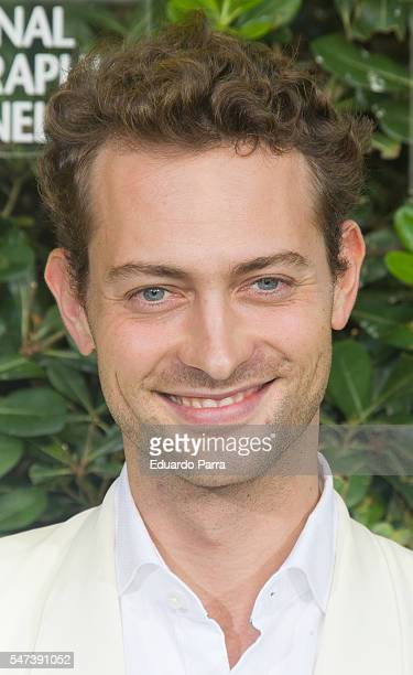 Actor Peter Vives attends the National Geographic Channel 15th Anniversary photocall at the EEUU embassy on July 14 2016 in Madrid Spain