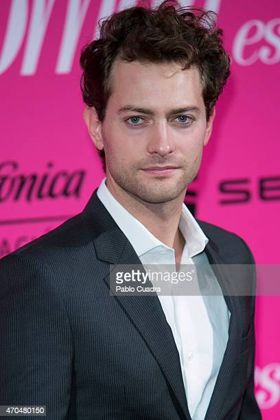 Actor Peter Vives attends 'Woman Awards' at 'Casino de Madrid' on April 20 2015 in Madrid Spain