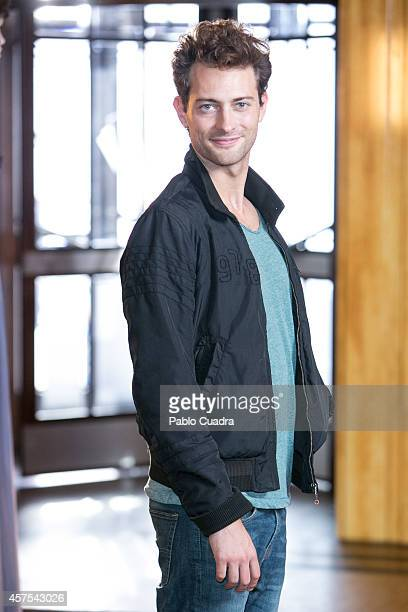 Actor Peter Vives poses during a photocall to present the 2nd season of 'Velvet' at A3 studios on October 20 2014 in Madrid Spain