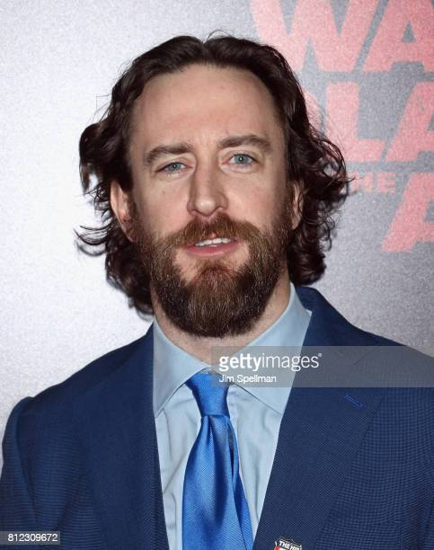 Actor Phil Burke attends the War For The Planet Of The Apes New York premiere at SVA Theater on July 10 2017 in New York City