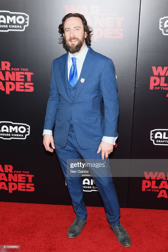 Actor Phil Burke attends the 'War for the Planet Of The Apes' New York Premiere at SVA Theater on July 10, 2017 in New York City.