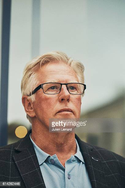 Actor Phil Davis is photographed for Self Assignment on October 1 2016 in Dinard France