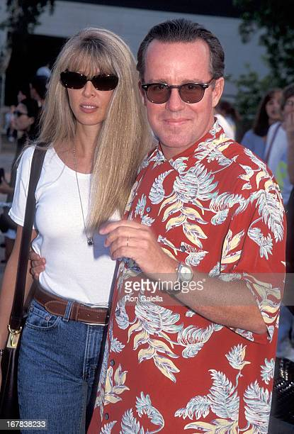 Actor Phil Hartman and wife Brynn attend An Evening at the Net Benefit for Revlon/UCLA Women's Cancer Research Program to KickOff the 67th Annual ATP...