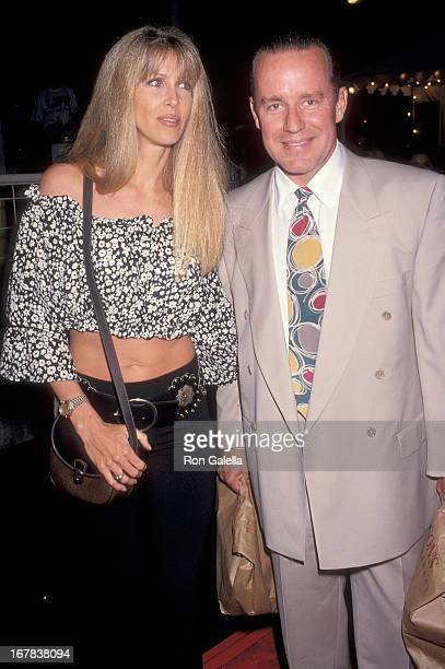 Actor Phil Hartman and wife Brynn attend the Fifth Annual Project Robin Hood Food Drive to Benefit Love Is Feeding Everyone on June 26 1993 at...