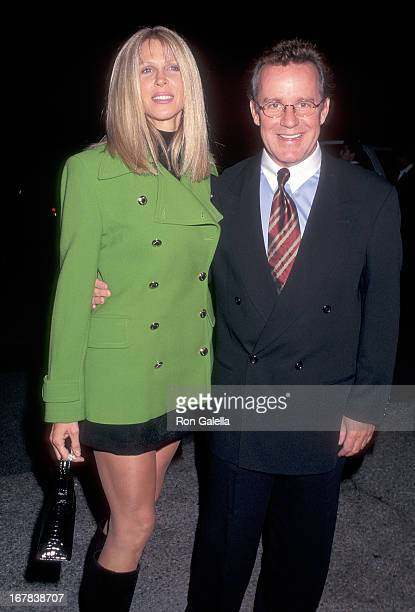 Actor Phil Hartman and wife Brynn attend the Neil Bogart Memorial Fund's Children's Choice Award Salute to David Foster on November 12 1997 at the...