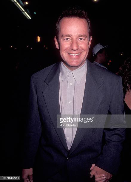 Actor Phil Hartman attends the Planet Hollywood Grand Opening Celebration on October 22 1991 at Planet Hollywood 140 West 57th Street in New York City
