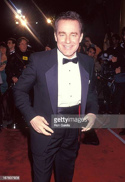 Actor Phil Hartman attends the Seventh Annual American Comedy Awards on February 28 1993 at the Shrine Exposition Center in Los Angeles California