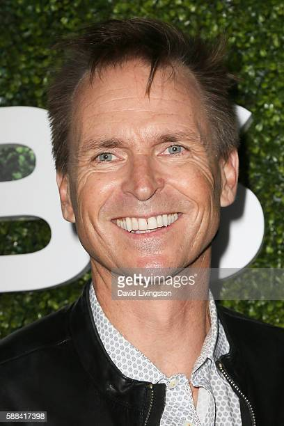 Actor Phil Keoghan arrives at the CBS CW Showtime Summer TCA Party at the Pacific Design Center on August 10 2016 in West Hollywood California