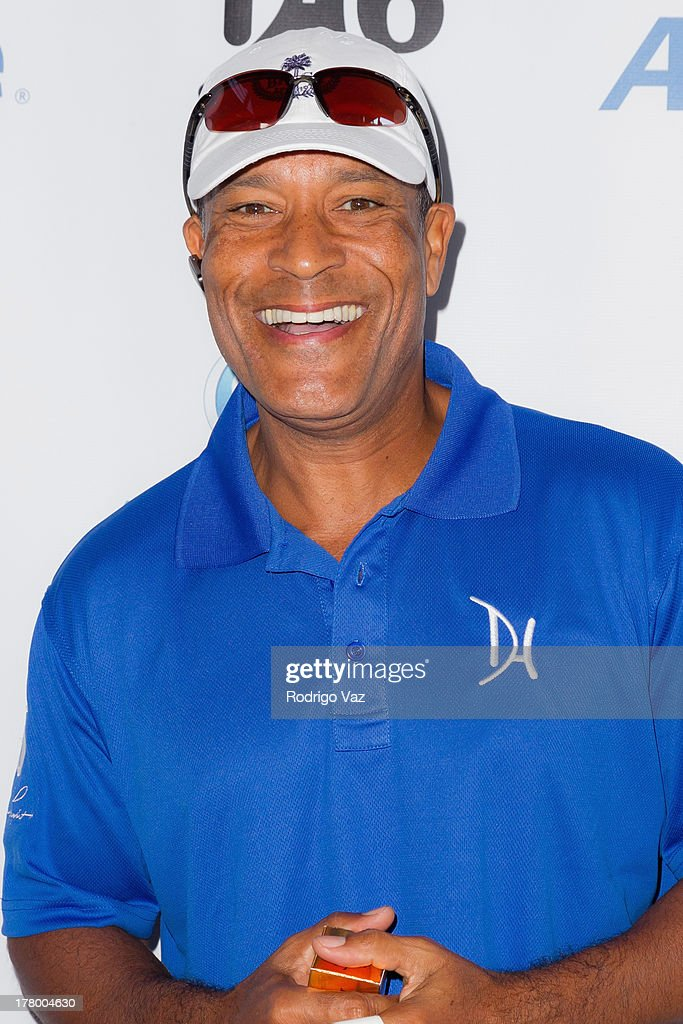 Actor Phil Morris attends the 2nd Annual Dennis Haysbert Humanitarian Foundation Celebrity Golf Classic at Lakeside Golf Club on August 26, 2013 in Burbank, California.