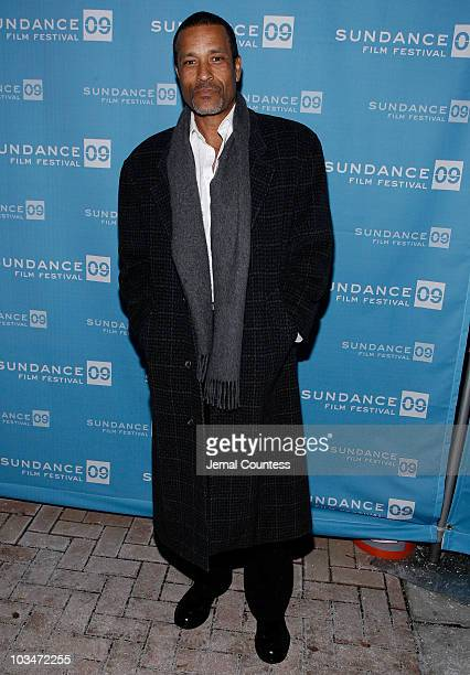 Actor Phil Morris attends the premiere of Black Dynamite during the 2009 Sundance Film Festival at Library Center Theatre on January 18 2009
