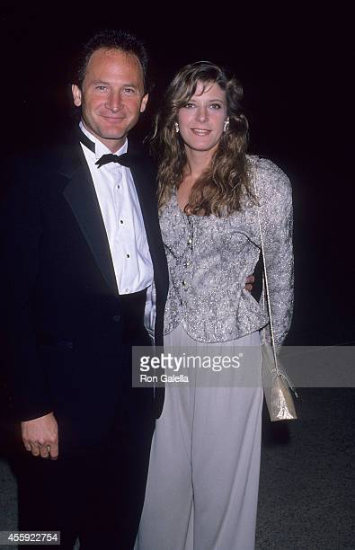Actor Philip Charles MacKenzie and actress Alison LaPlaca attend the 41st Annual Primetime Emmy Awards on September 17 1989 at the Pasadena Civic...