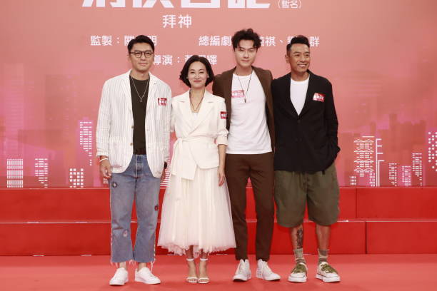 CHN: TV Series 'Detective Investigation Files V' Press Conference In Hong Kong