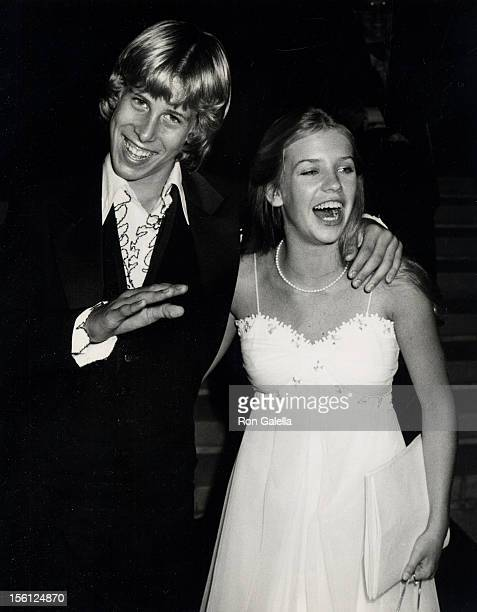 Actor Philip McKeon and date attending 31st Annual Primetime Emmy Awards on September 9 1979 at the Pasadena Civic Auditorium in Pasadena California