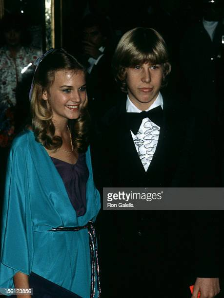 Actor Philip McKeon and date attending 37th Annual Golden Globe Awards on January 26 1980 at the Beverly Hilton Hotel in Beverly Hills California