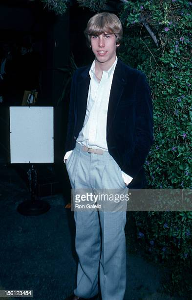 Actor Philip McKeon attending 'Entertainment Tonight 100th Taping Celebration' on January 10 1982 at Su Ling Restaurant in Los Angeles California