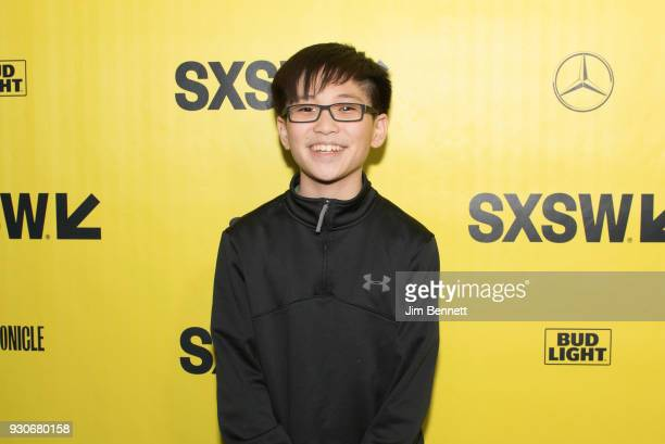 Actor Philip Zhao walks the red carpet at the world premiere of Ready Player One during the SXSW Film Festival on March 11 2018 in Austin Texas