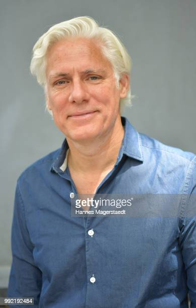 Actor Philipp Brenninkmeyer attends the FFF reception during the Munich Film Festival 2018 at Praterinsel on July 5 2018 in Munich Germany