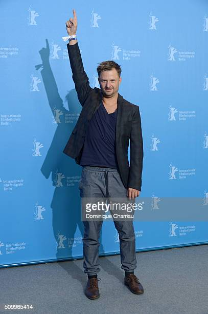 Actor Philipp Hochmair attends the 'Tomcat' photo call during the 66th Berlinale International Film Festival Berlin at Grand Hyatt Hotel on February...