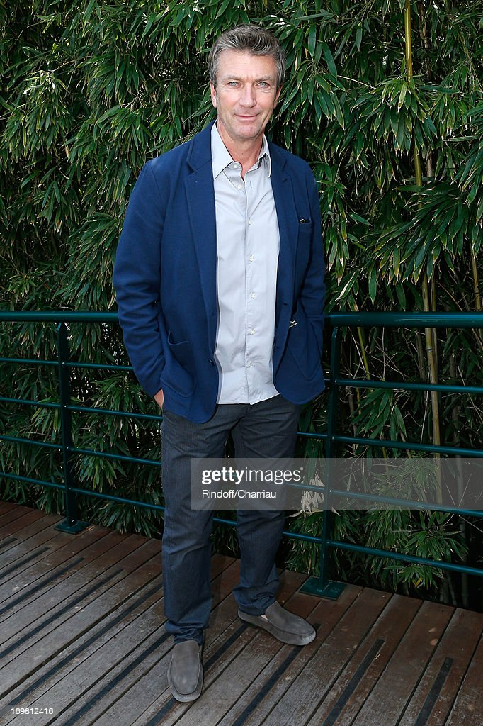 Actor Philippe Caroit attends Roland Garros Tennis French Open 2013 - Day 8 on June 2, 2013 in Paris, France.