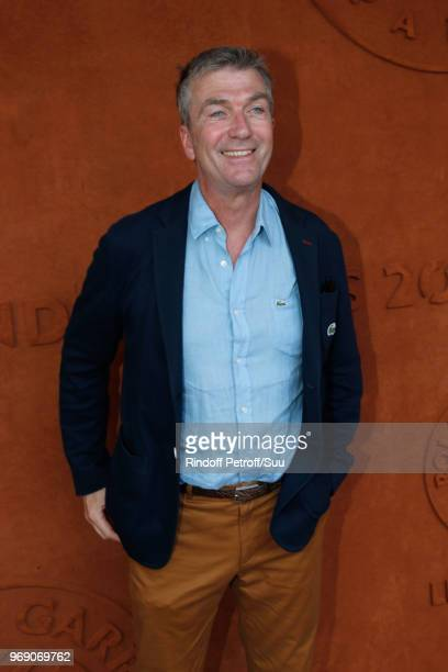 Actor Philippe Caroit attends the 2018 French Open Day Twelve at Roland Garros on June 7 2018 in Paris France