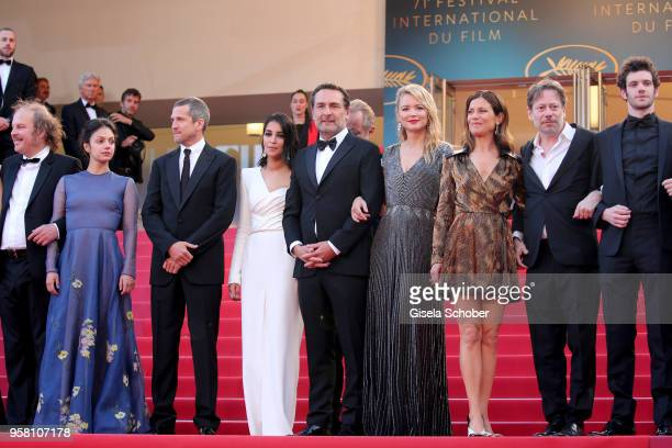 Actor Philippe Katerine actress Noee Abita actor Guillaume Canet actress Leila Bekhti director Gilles Lellouche actresses Virginie Efira and Marina...