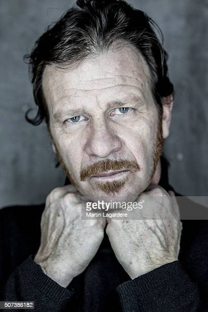 Actor Philippe Lelievre is photographed for Self Assignment on February 19 2015 in Paris France