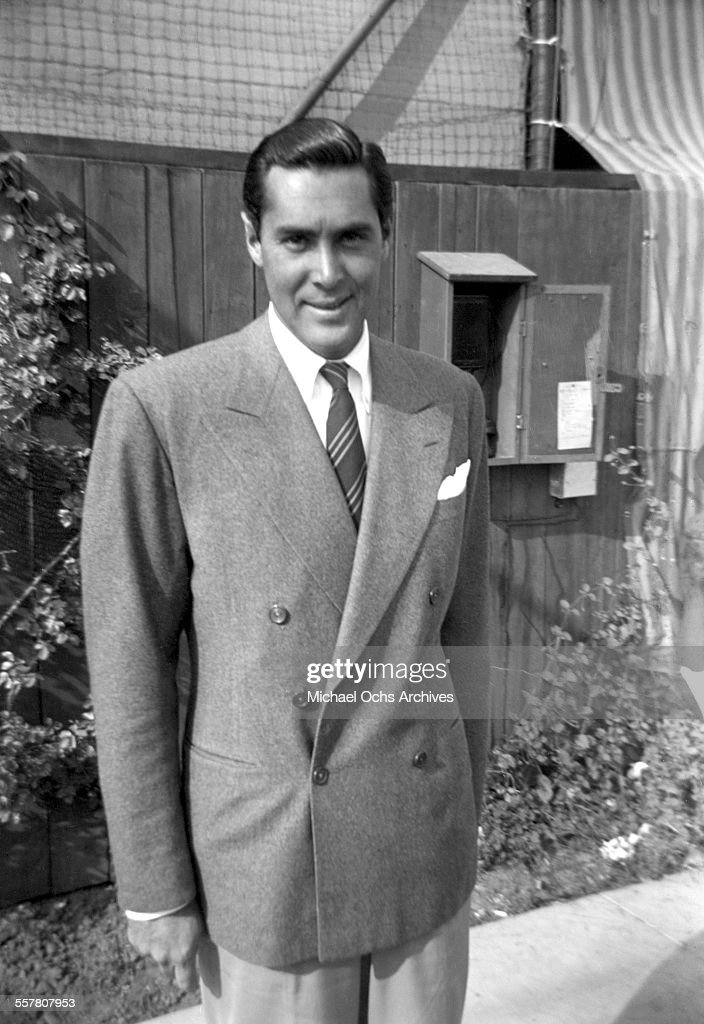 Actor Phillip Reed poses on a street in Los Angeles, California.