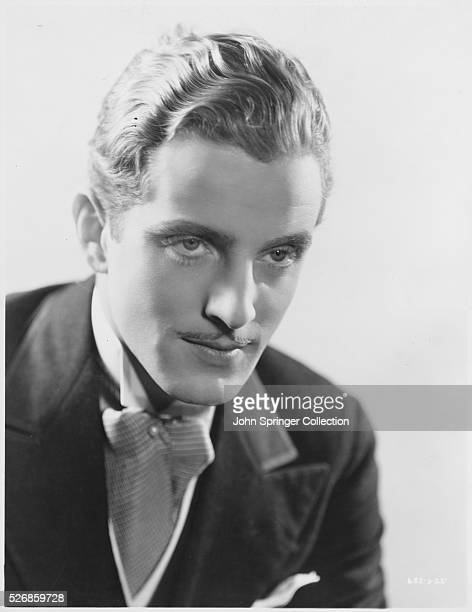 Actor Phillips Holmes Wearing Ascot