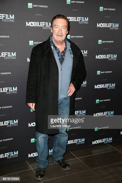Actor Phlippe Duquesne attends Mobile Film Festival 2018 at Mk2 Bibliotheque on March 13 2018 in Paris France