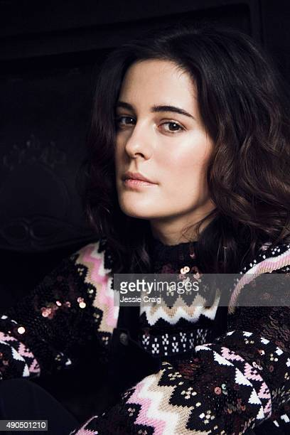 Actor Phoebe Fox is photographed for Flaunt magazine on June 22 2015 in London England