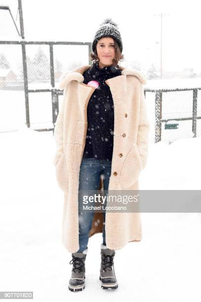Actor Phoebe WallerBridge attends the Respect Rally in Park City on January 20th 2018 in Park City Utah