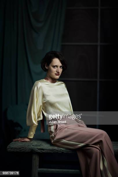 Actor Phoebe WallerBridge is photographed for the Observer on May 14 2017 in London England