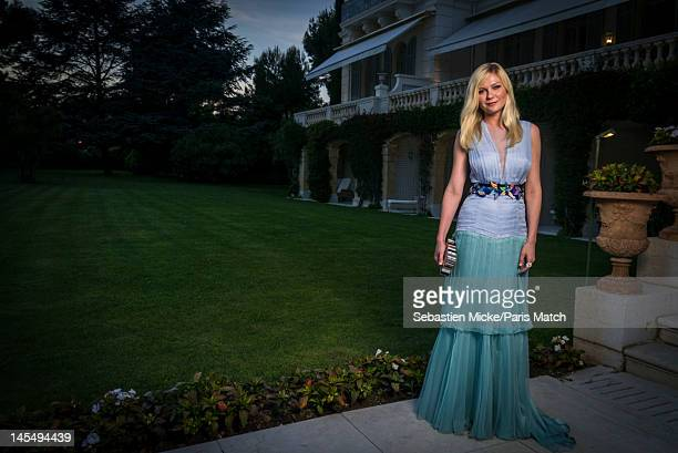Actor photographed at the amfAR Cinema Against AIDS gala, for Paris Match on May 24 in Cap d'Antibes, France.