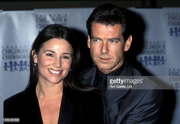 Actor Pierce Brosnan and girlfriend Keely Shaye Smith attend the Children at Heart Celebrity/Fantasy Auction to Benefit Chabad's Children of...