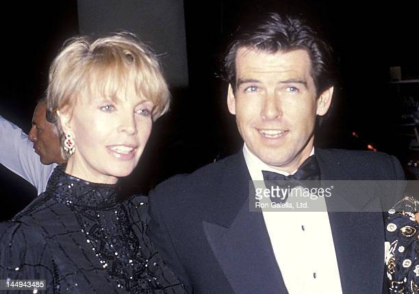 Actor Pierce Brosnan and wife Cassandra Harris attend the 'Carousel of Hope' Ball to Benefit the Barbara Davis Center for Childhood Diabetes on...