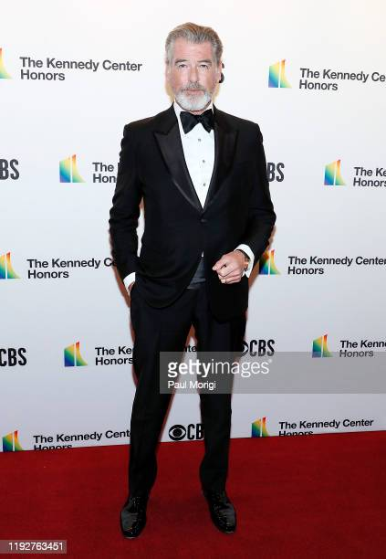 Actor Pierce Brosnan attends the 42nd Annual Kennedy Center Honors Kennedy Center on December 08 2019 in Washington DC