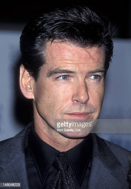 Actor Pierce Brosnan attends the Children at Heart Celebrity/Fantasy Auction to Benefit Chabad's Children of Chernobyl on November 11 1998 at Pier 60...