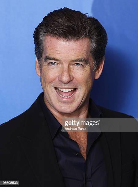 Actor Pierce Brosnan attends the 'Ghost Writer' Photocall during day two of the 60th Berlin International Film Festival at the Grand Hyatt Hotel on...