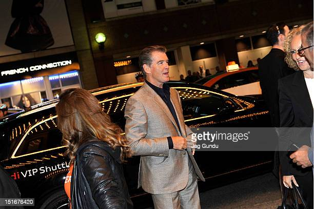 Actor Pierce Brosnan attends the Love Is All You Need premiere during the 2012 Toronto International Film Festival at The Elgin on September 9 2012...
