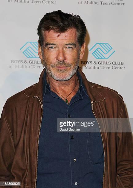 Actor Pierce Brosnan attends the Malibu Boys And Girls Club Gala on October 19 2013 in Malibu California