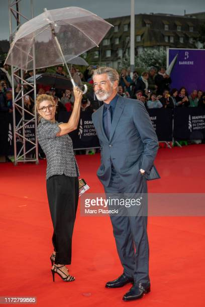 Actor Pierce Brosnan attends the Opening Ceremony during the 45th Deauville American Film Festival on September 06, 2019 in Deauville, France.