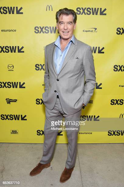Actor Pierce Brosnan attends the 'The Son' premiere during 2017 SXSW Conference and Festivals at the ZACH Theatre on March 12 2017 in Austin Texas