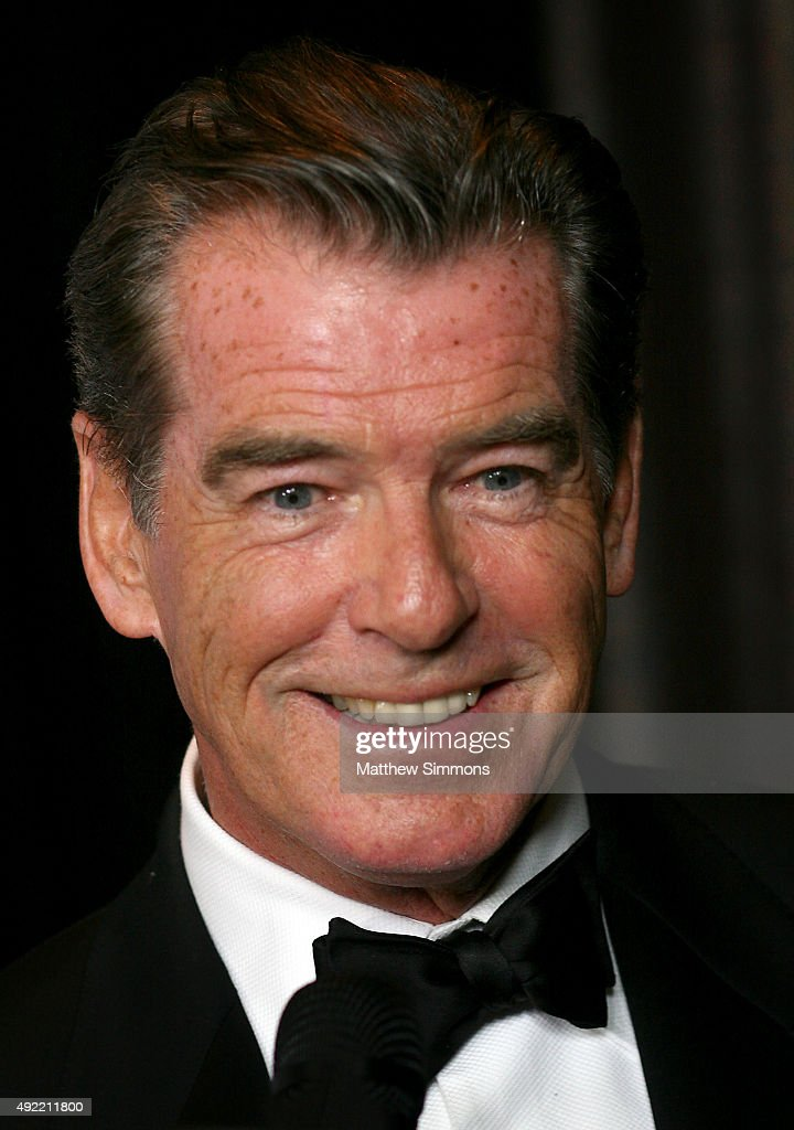 Actor Pierce Brosnan attends the USC Norris Cancer Center Gala at the Beverly Wilshire Four Seasons Hotel on October 10, 2015 in Beverly Hills, California.