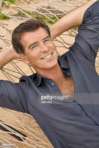 Actor Pierce Brosnan is photographed for Parade Magazine in 2008. COVER