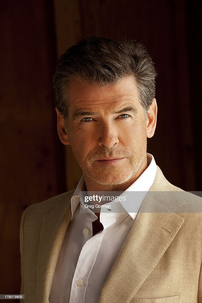 Actor Pierce Brosnan is photographed for Self Assignment in 2009 in Los Angeles, California.