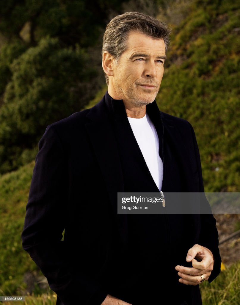 Actor Pierce Brosnan is photographed for Spec in 2009 in Los Angeles, California.